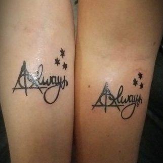 Tattoo Harry Potter Always