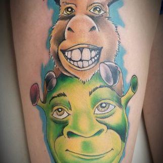 Tattoo Shrek