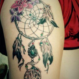dream-catcher-tattoo
